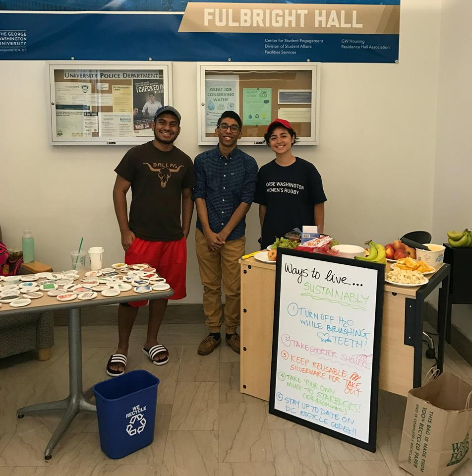 Eco Reps hold programs in Residence Halls